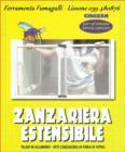 ZANZARIERA ESTENSIBILE FIBERGLASS ALLUMINIO 100x75