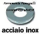 RONDELLE ACCIAIO INOX A2